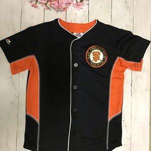 San Francisco Giants boy size SM majestic jersey